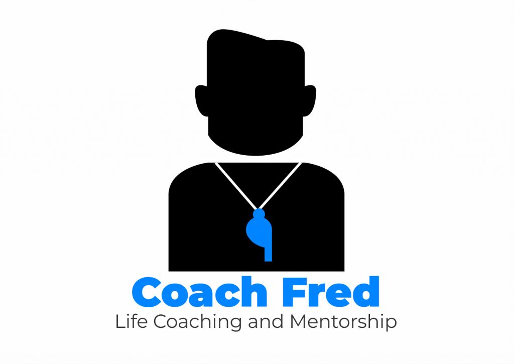 life coach fred social icon white background public speaker