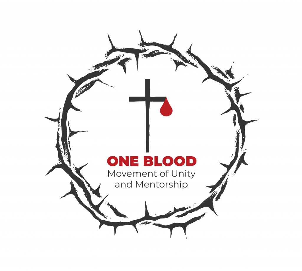 one blood movement of unity and mentorship end racism and poverty logo