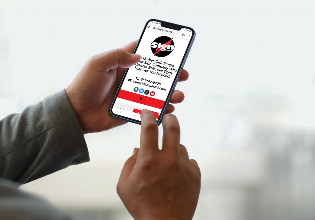 mobile optimization website design marketing agency tampa